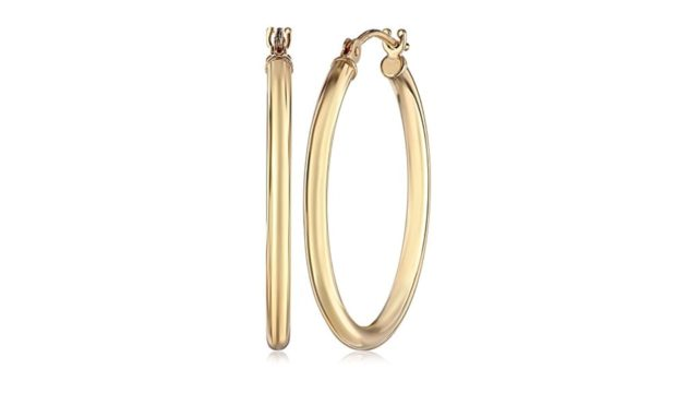 14k Gold Hoop Earrings 1 Inch Diameter Review & Ratings