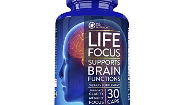 Brain Booster Nootropic Supplement By All Life Nutrition Focus
