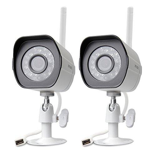 Zmodo 720p HD Outdoor Home Wifi Security Surveillance Video Cameras