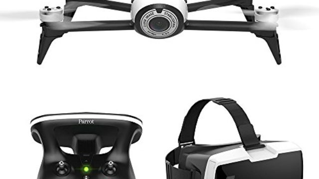 Parrot Bebop 2 FPV – Up to 25 minutes of flight time, FPV goggles, compact drone