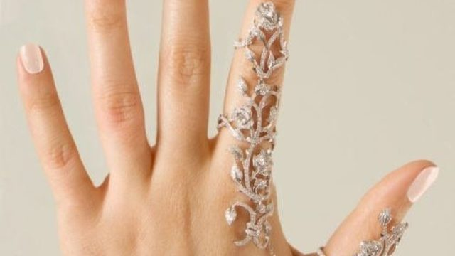 1PC Rings Multiple Finger Stack Knuckle Band Crystal Set Womens Fashion Jewelry by MACHEE