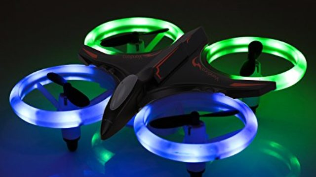Vandora RC Drone- RC Mini Quadcopter Altitude Hold Height Headless RTF 3D 6-Axis Gyro 4CH 2.4Ghz Helicopter Steady Super Easy Fly for Training
