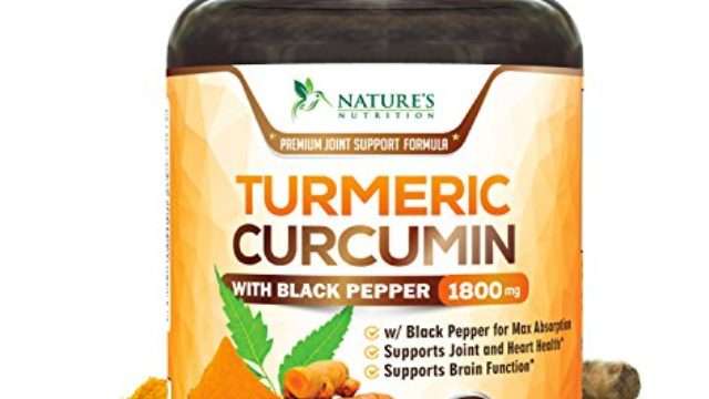 Turmeric Curcumin Max Potency 95% Curcuminoids 1800mg with