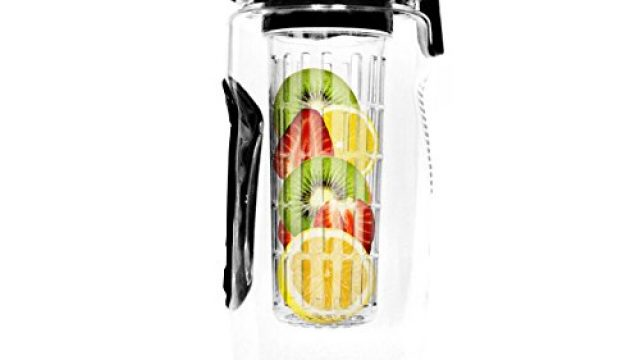 Fitness Master Fruit Infuser Water Bottle, 32-Ounce