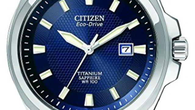 Citizen Eco-Drive Men's BM7170-53L Titanium Watch Review & Ratings