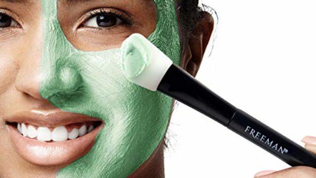 Freeman Facial Mask Gift Set with 2 Bonus Mask Brushes, 14 Piece Set