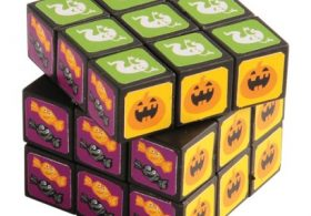 US Toy FA958X5 Halloween Puzzle Cubes – 12 Per Pack – Pack of 5