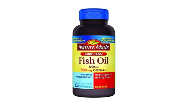 Nature made burp less fish oil creative products for Nature made fish oil review
