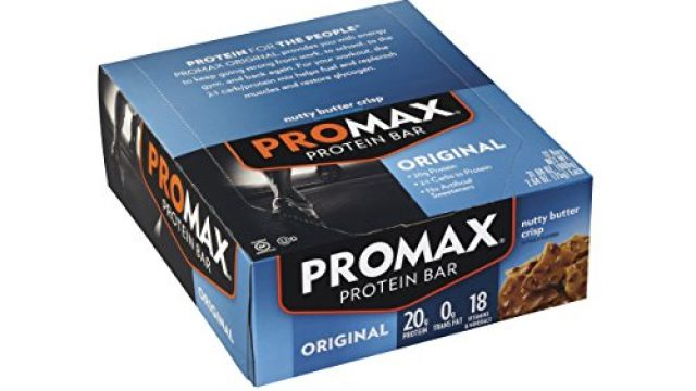 Promax Protein Bars Review & Ratings
