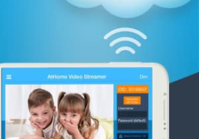AtHome Video Streamer – Remote video surveillance, Home security, Monitoring, IP Camera