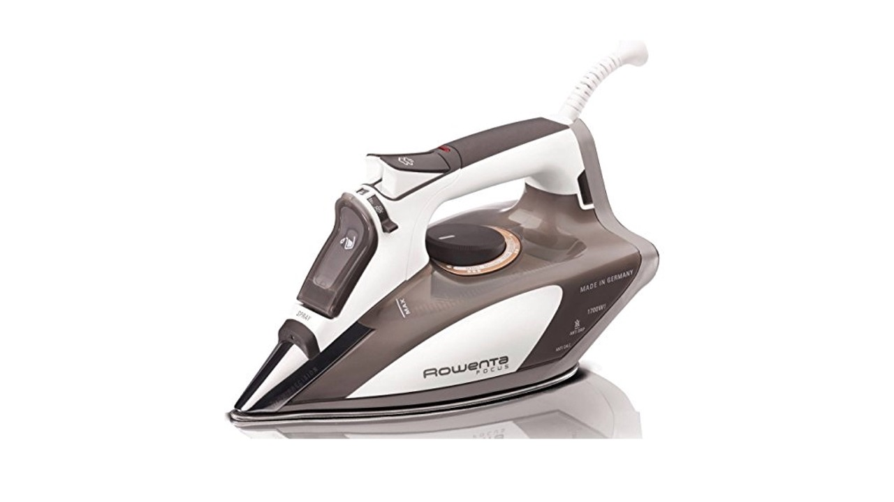 rowenta dw5080 focus micro steam iron review ratings. Black Bedroom Furniture Sets. Home Design Ideas