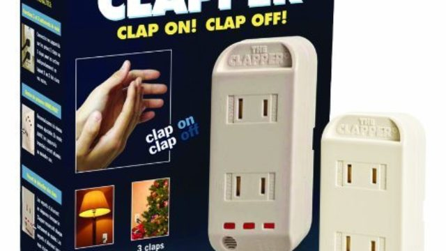 The Clapper Sound Activated On/Off Switch Review & Ratings
