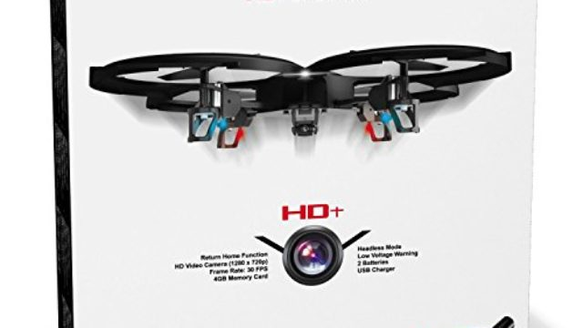 UDI U818A HD+ Drone with Camera and Headless Mode Review & Ratings