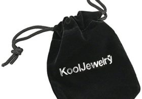Kooljewelry Solid 14k Yellow Gold Rope Chain Necklace (1.3 mm, 18 inch)
