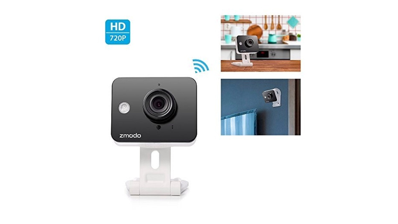 zmodo mini wifi wireless smart home video security camera review ratings creative products. Black Bedroom Furniture Sets. Home Design Ideas