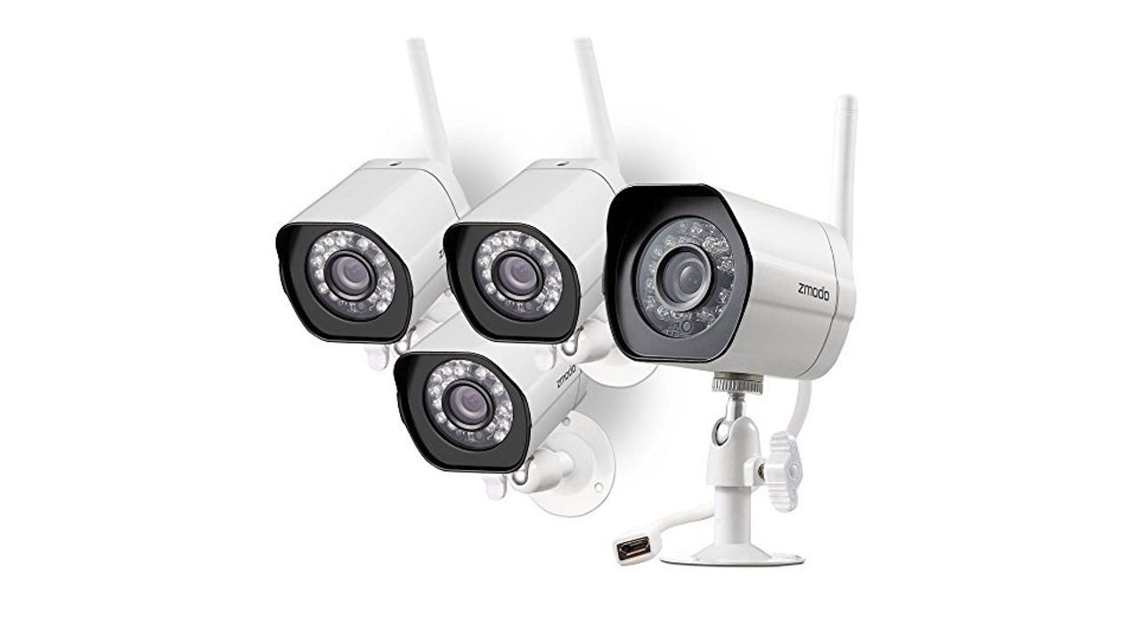 Zmodo Outdoor Wireless Ip Security Surveillance Camera System Review Ratings Creative Products