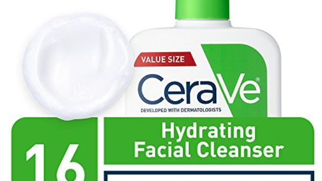CeraVe Hydrating Facial Cleanser   Moisturizing Non-Foaming Face Wash with Hyaluronic Acid, Ceramides & Glycerin Exclusive, Unscented, 16 Fl Oz