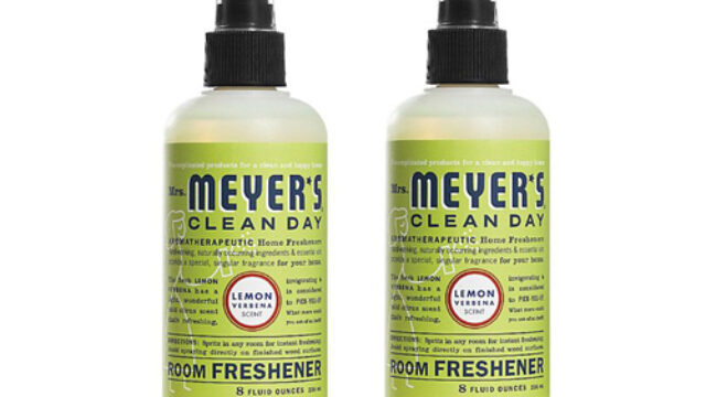 Mrs. Meyers ECV1733575 8 oz Room Freshener Lemon Verbena – Case of 6