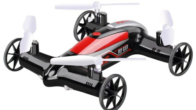 Azimport X9S Black X9S 2.4G & 4CH 6-Axis RC Fly Car Nerf Quadcopter Mini Drone – Black