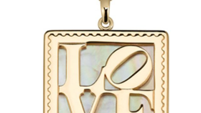 Arjang & Co PS-8004-SG Yellow Gold plated For Someone Special Pendant