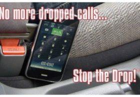 Drop Stop – The Original Patented Car Seat Gap Filler (AS SEEN ON Shark Tank) – Set of 2