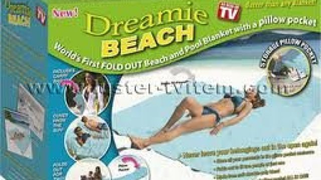 Dreamie Beach & Pool Blanket/towel As Seen On Tv
