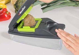Mueller Austria Onion Chopper Pro Vegetable Chopper – Strongest – 30% Heavier Duty Multi Vegetable-Fruit-Chopper-Kitchen Cutter